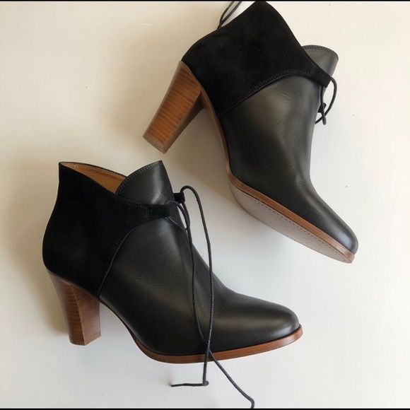 2dd1f94eaf6 Sezane Low Hunter Boots: Black